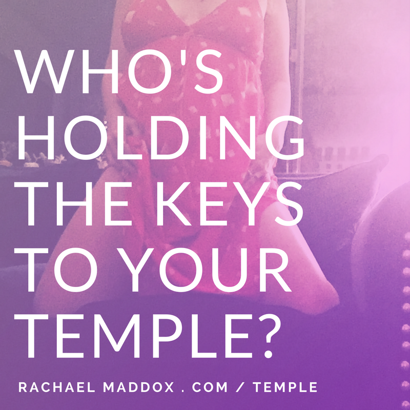 Who's holding the keys to your temple?
