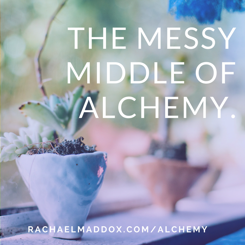 The messy middle of alchemy.